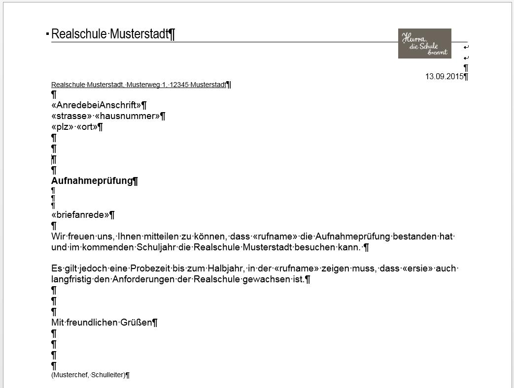 rs:berichte_filter:serienbriefimport_aus_word [Amtliche ...